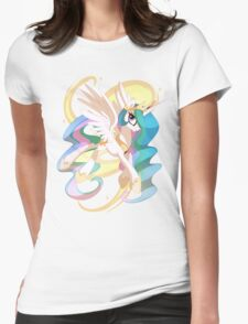 Princess Celestia Womens Fitted T-Shirt