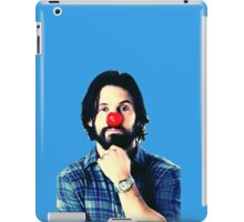 Red Nose Milo Ventimiglia iPad Case/Skin