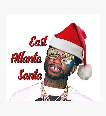 Gucci Mane East Atlanta Santa Christmas Photographic Print