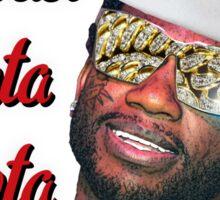 Gucci Mane East Atlanta Santa Christmas Sticker