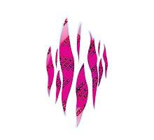 Dedsec Graffiti Spray Custom Pink Photographic Print
