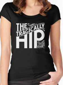 The Tragically Hip, BW Women's Fitted Scoop T-Shirt