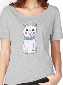 Cute Girly Christmas Holiday Polar Bears Women's Relaxed Fit T-Shirt