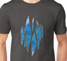 Dedsec Graffiti Spray Custom Blue Unisex T-Shirt