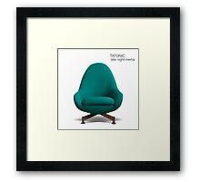 Tatonic album cover Framed Print