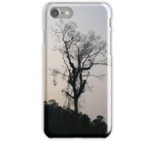 Atardecer de una selva iPhone Case/Skin