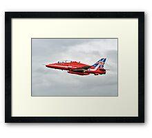 2014 Red Arrows - Hawk T1A Framed Print