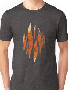 Dedsec Graffiti Spray Custom Orange Unisex T-Shirt