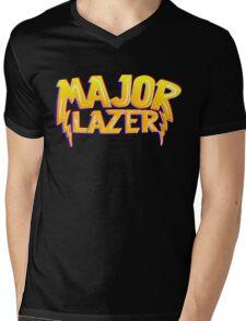 Major Lazer Mens V-Neck T-Shirt