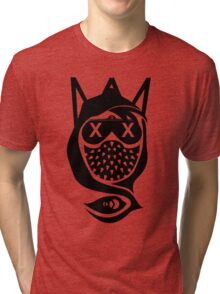 Wrench Vector Art Abstract Tri-blend T-Shirt