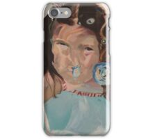 Clover underwater swim iPhone Case/Skin