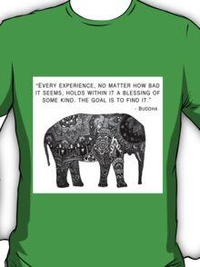 Buddha Wisdom Elephant T-Shirt