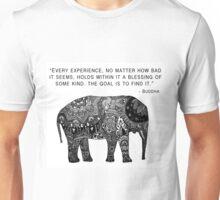 Buddha Wisdom Elephant Unisex T-Shirt