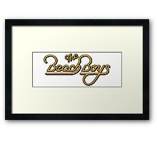 The Beach Boys Framed Print