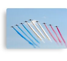 Red Arrows - Big Battle Arrival Canvas Print