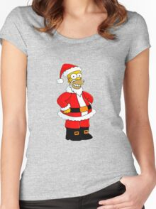 SIMPSON Women's Fitted Scoop T-Shirt