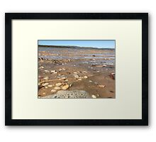 Mini Waves Framed Print