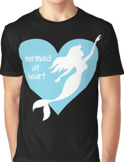 Mermaid At Heart Graphic T-Shirt