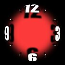 Mysterious Orb Clock - Red by Ra12
