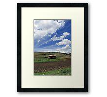 Casa de campo en Maras Cusco Framed Print