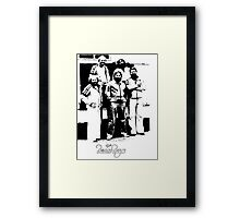 The beach boys. Framed Print