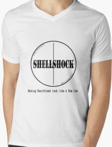 Funny Shellshock Bash Bug Shirt  Mens V-Neck T-Shirt