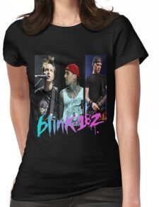 blink 182. Womens Fitted T-Shirt