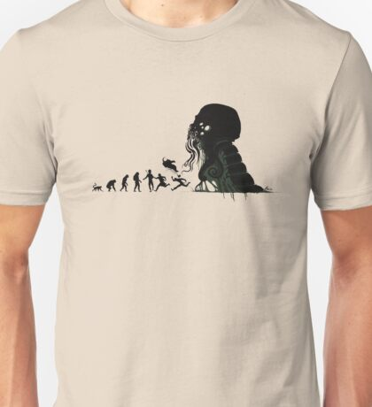 Lovecraftian Evolution Unisex T-Shirt