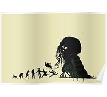 Lovecraftian Evolution Poster