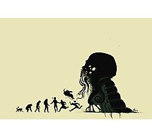 Lovecraftian Evolution Photographic Print