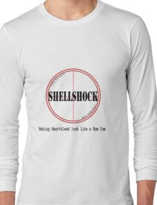 Shellshock making heartbleed look like a rom com Funny Shirt Long Sleeve T-Shirt
