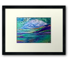 Fantasy Beach Framed Print