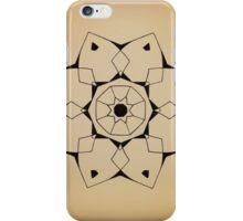 Mandala #206    Tan iPhone Case/Skin