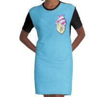 Candy Heart : Sweet to the core Graphic T-Shirt Dress