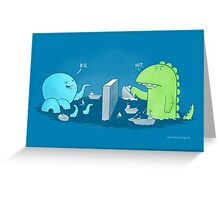You sunk my navy Greeting Card