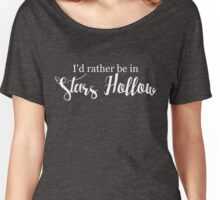 I'd Rather Be in Stars Hollow Women's Relaxed Fit T-Shirt