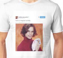 Matthew gray gubler tweets Unisex T-Shirt