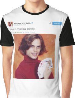 Matthew gray gubler tweets Graphic T-Shirt