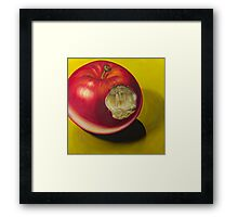 From the Apple & Eve series, Planting a Seed  Framed Print