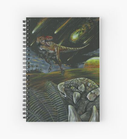 Dooms day and Dinos  Spiral Notebook