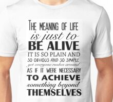 Meaning of Life Unisex T-Shirt