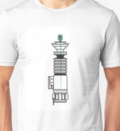 Spraysaber Green Unisex T-Shirt