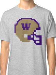 Washington Huskies 8-bit Helmet Classic T-Shirt