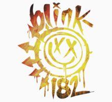 Blink 182 Yellow Fire Baby Tee