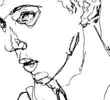 Troye Sivan Expressive Portrait Sticker
