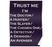 Trust Me, I'm ______ Poster