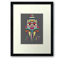 Crazy Person Framed Print