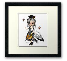 Butterfly Fae Framed Print