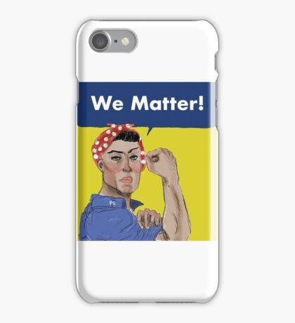 Rosie the Riveter  iPhone Case/Skin