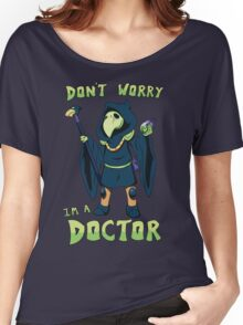 "Plague Knight - ""I'm a doctor"" - Shovel Knight Women's Relaxed Fit T-Shirt"